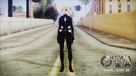 Blonde Domino from Deadpool para GTA San Andreas segunda tela