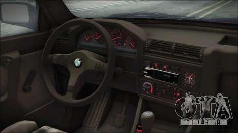 BMW 320i E21 1985 SA Plate para GTA San Andreas vista direita