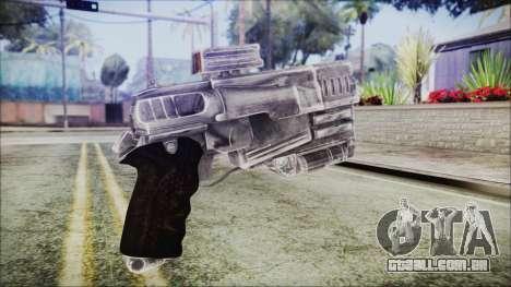 Fallout 4 Heavy 10mm Pistol para GTA San Andreas segunda tela