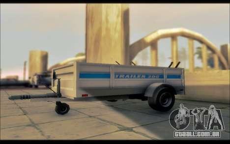 GTA V Utilitário Reboque para GTA San Andreas