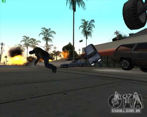 Insanidade, no estado de San Andreas v1.0 para GTA San Andreas por diante tela