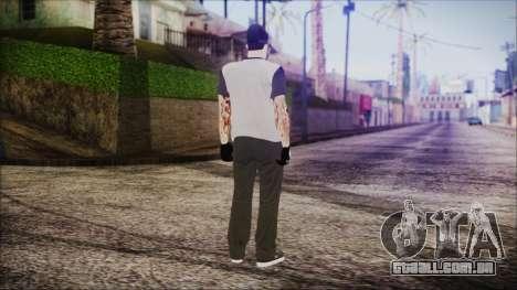 GTA Online Skin 51 para GTA San Andreas terceira tela
