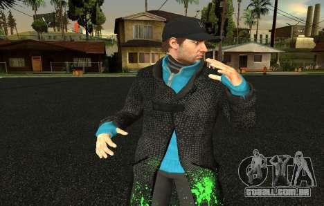 Mens Mega Pack para GTA San Andreas twelth tela