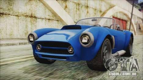GTA 5 Declasse Mamba para GTA San Andreas