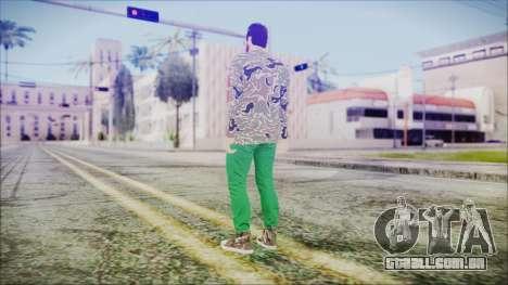 GTA Online Skin 28 para GTA San Andreas terceira tela