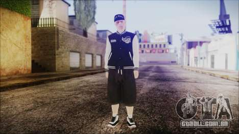 GTA Online Skin 50 para GTA San Andreas segunda tela