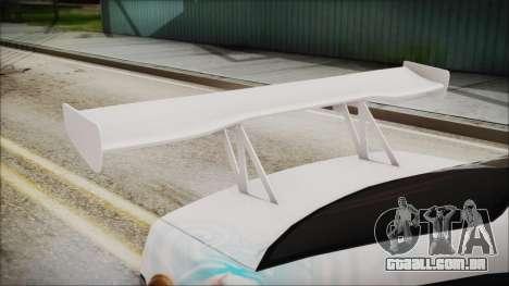BMW M3 E36 Frozen para GTA San Andreas vista traseira