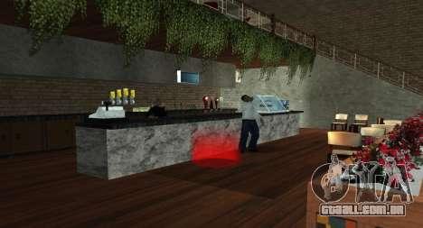 Italian bar Gangstaro in Dos Santos para GTA San Andreas