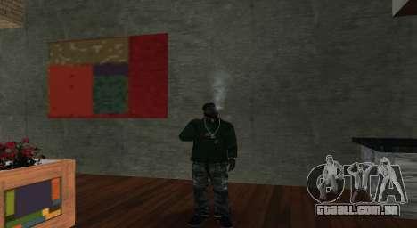 Italian bar Gangstaro in Dos Santos para GTA San Andreas segunda tela