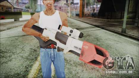 Fallout 4 Focused Institute Rifle para GTA San Andreas terceira tela