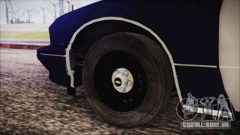 Chevrolet Caprice Station Wagon 1993-1996 LSPD para GTA San Andreas traseira esquerda vista
