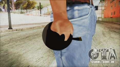Angry Bird Grenade para GTA San Andreas terceira tela