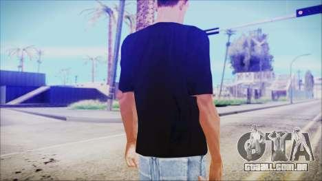 T-Shirt Christmas Tree para GTA San Andreas segunda tela