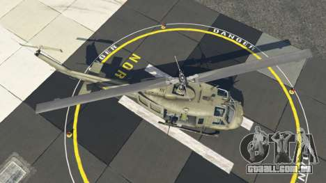 GTA 5 Bell UH-1D Iroquois Huey quarto screenshot