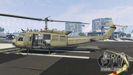 GTA 5 Bell UH-1D Iroquois Huey segundo screenshot