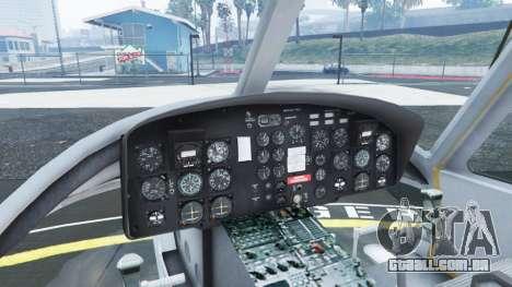 GTA 5 Bell UH-1D Huey Royal Canadian Air Force quinta imagem de tela