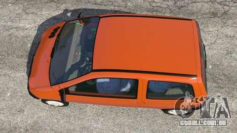 GTA 5 Renault Twingo I voltar vista
