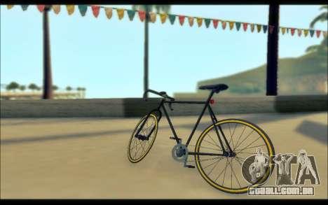 GTA V Fixter para GTA San Andreas traseira esquerda vista