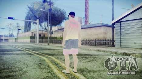 GTA Online Skin 31 para GTA San Andreas terceira tela