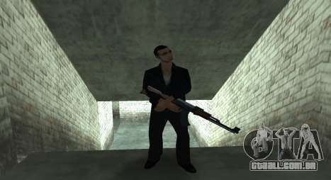 Italian bar Gangstaro in Dos Santos para GTA San Andreas quinto tela