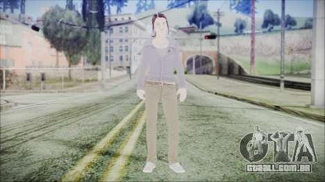 Hermione Granger para GTA San Andreas segunda tela