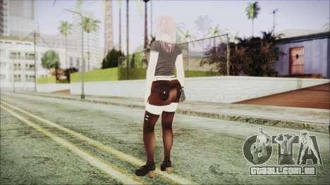 DoA Kokoro 2 para GTA San Andreas terceira tela