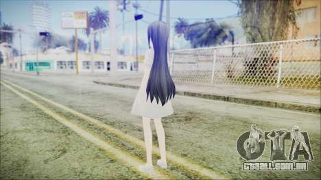 Yui Sword Art Online para GTA San Andreas terceira tela