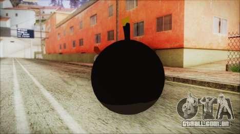 Angry Bird Grenade para GTA San Andreas segunda tela
