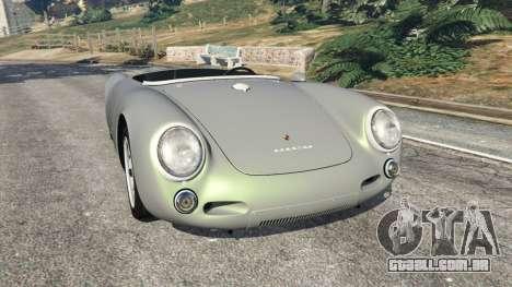 Porsche 550A Spyder 1956 para GTA 5