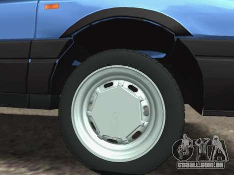 Volkswagen Passat B3 Variant para vista lateral GTA San Andreas
