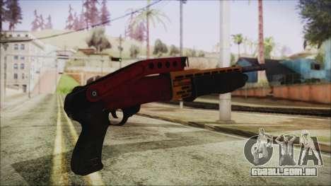 Xmas SPAS-12 para GTA San Andreas segunda tela