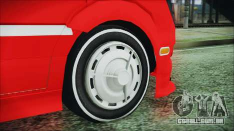 Mercedes-Benz Sprinter 26 M 0009 para GTA San Andreas traseira esquerda vista