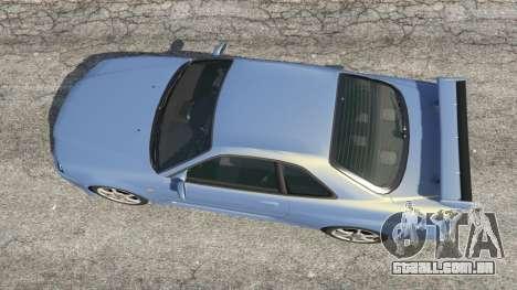 GTA 5 Nissan Skyline R34 2002 voltar vista