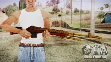Xmas M14 para GTA San Andreas terceira tela