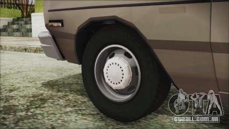 Dodge Dart 1975 para GTA San Andreas traseira esquerda vista