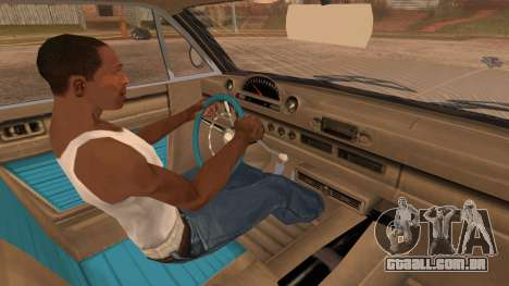 GTA 5 Declasse Clean Voodoo Bobble Version IVF para GTA San Andreas vista direita