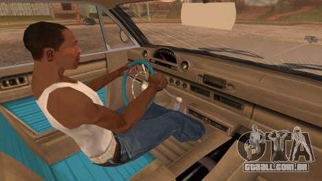 GTA 5 Declasse Clean Voodoo Bobble Version IVF para GTA San Andreas vista direita