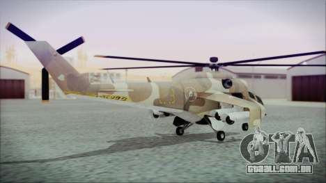 GTA 5 Savage para GTA San Andreas esquerda vista