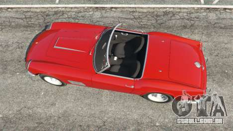 GTA 5 Ferrari 250 California 1957 voltar vista