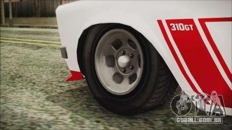 GTA 5 Declasse Tampa para GTA San Andreas traseira esquerda vista