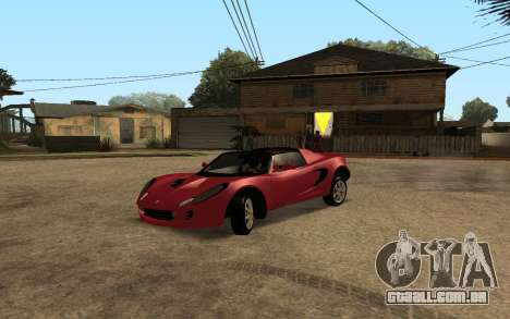 Lotus Elise 111s Tunable para vista lateral GTA San Andreas