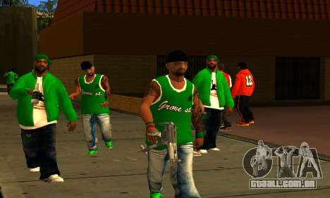 Mens Mega Pack para GTA San Andreas por diante tela