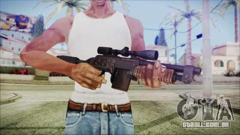 Fallout 4 Overseers Guardian para GTA San Andreas terceira tela
