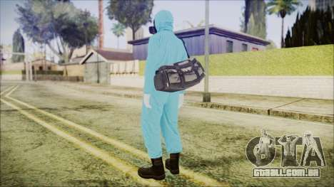 GTA 5 Online The Heist Gasmask Dark para GTA San Andreas terceira tela
