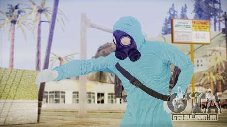 GTA 5 Online The Heist Gasmask Dark para GTA San Andreas