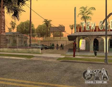 Bratki no bar para GTA San Andreas por diante tela