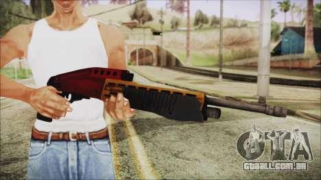 Xmas SPAS-12 para GTA San Andreas terceira tela