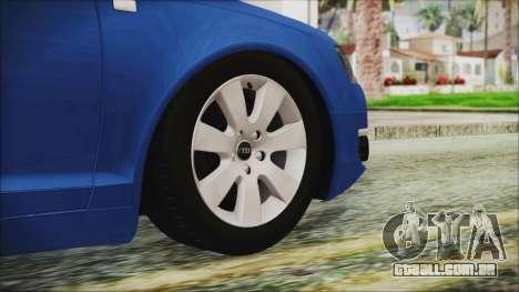 Audi A6 para GTA San Andreas traseira esquerda vista
