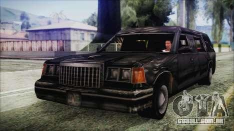 The Romeros Hearse para GTA San Andreas