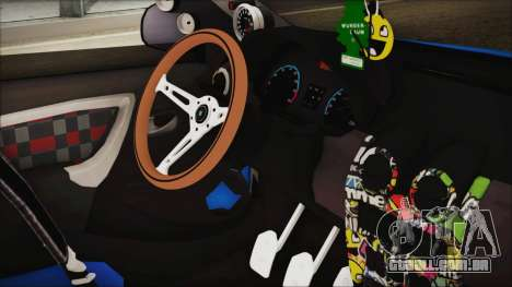 Dacia Logan Cadde Style para GTA San Andreas vista direita